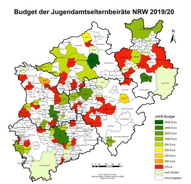Budget der JAEB